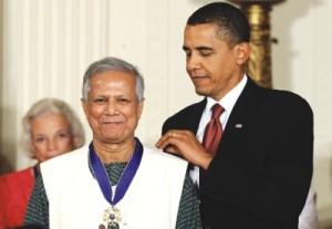 Obama  Yunus