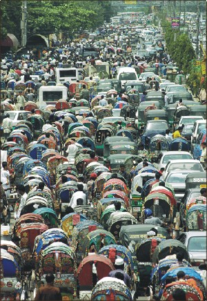 traffic congestion in dhaka city The story of traffic problems in brazil's biggest city, sao paulo, which   indonesians living in jakarta have their own word for traffic jam - the inevitable  macet  dhaka is arguably the most densely populated city in the world.