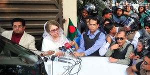 Khaleda under house arrest-1