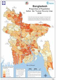 Poverty map -Bangladesh  2014